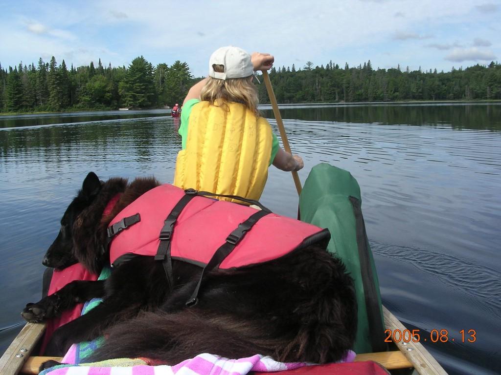 Ciaran canoe